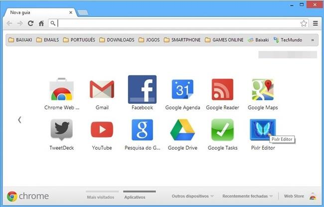 google chrome tema apple